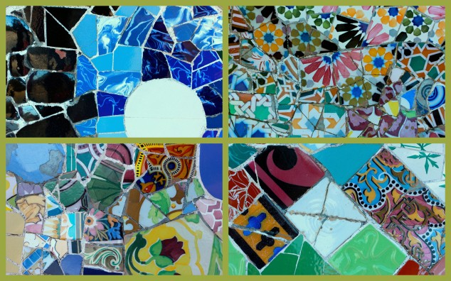 Gaudi-collage